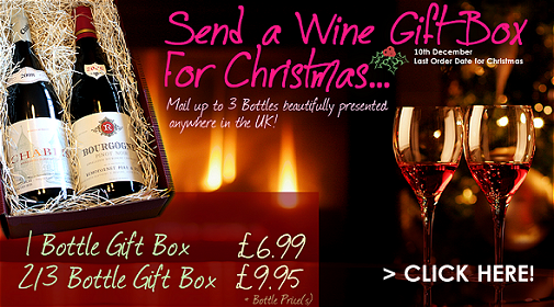The Village Vine Christmas Wine Gift Boxes
