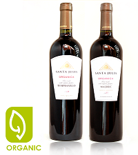 Santa Julia Tempranillo & Malbec Organica