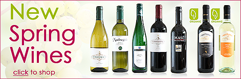 New Wines for Spring 2012