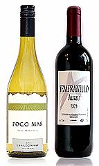 Albizu Tempranillo & Poco Mas Chardonnay